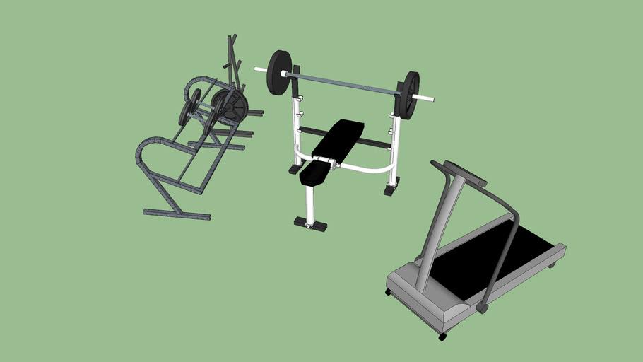 equipamentos academia