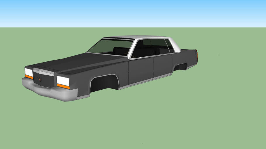 Cadillac Fleetwood by Crown (Prototype)