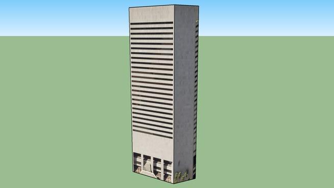 迈阿密, 佛罗里达, 美国的建筑模型