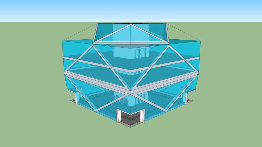 A Modern Glass Structure