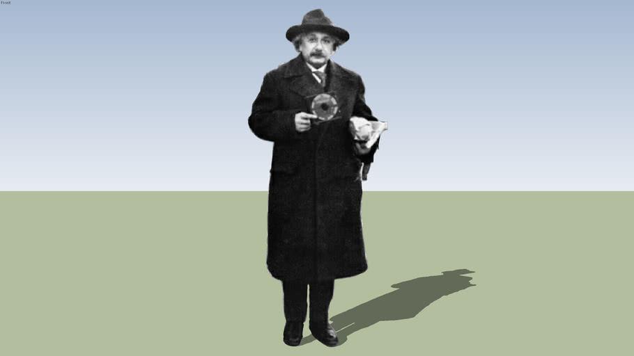 2D - Albert Einstein