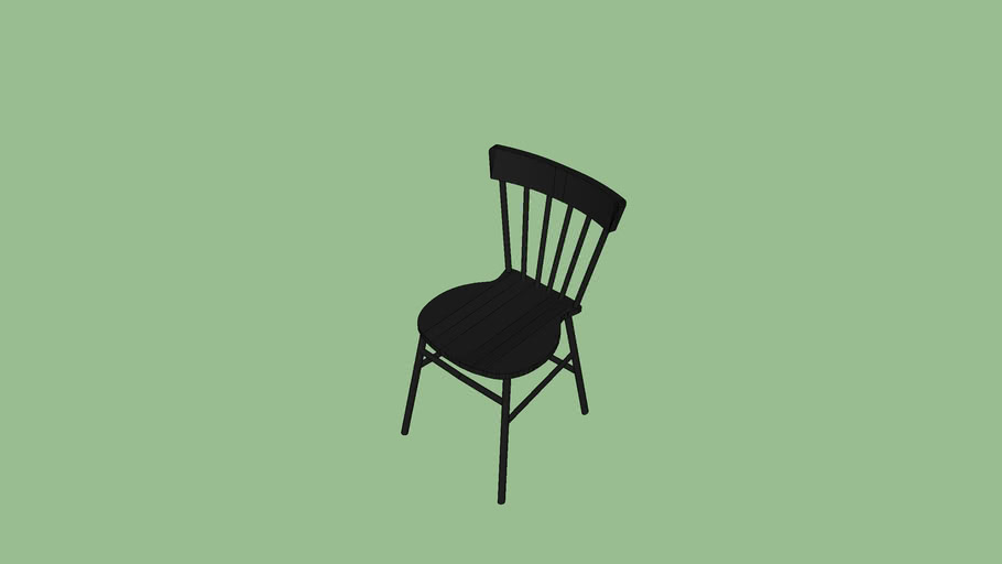 餐廳單椅黑