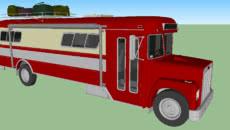 Red Camper Truck