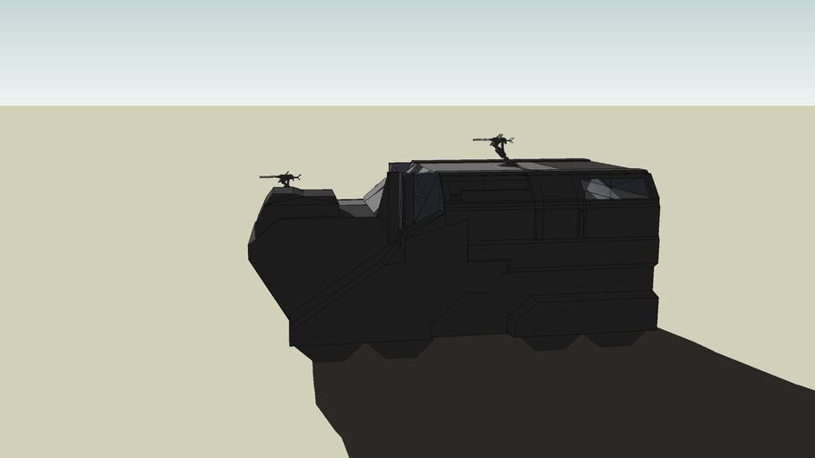 Halo Elephant mod (work in progress)
