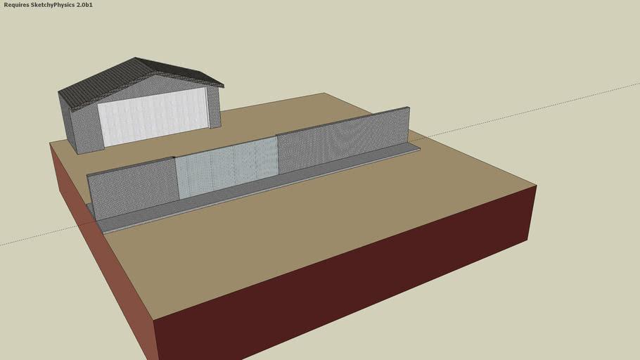 portail 1 vantail suippes domotique