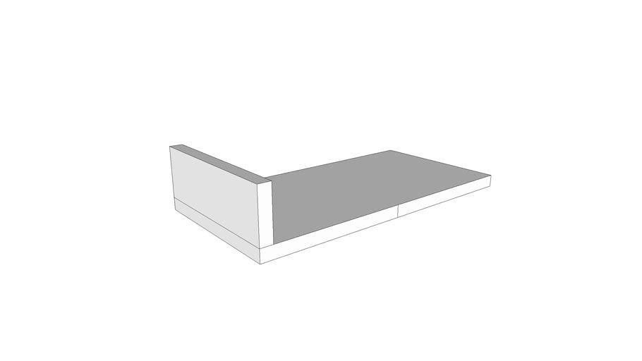 X1000 - Benchtop, Plastic, Laminated-no opening