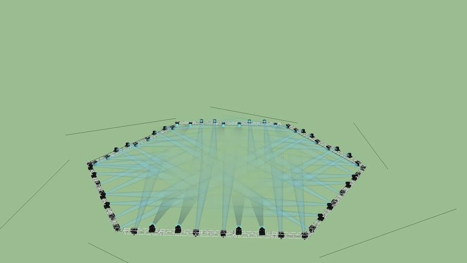 Hexagon Truss