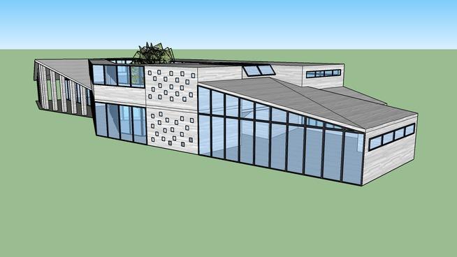 School project from Ben Van Berkel's Möbius House