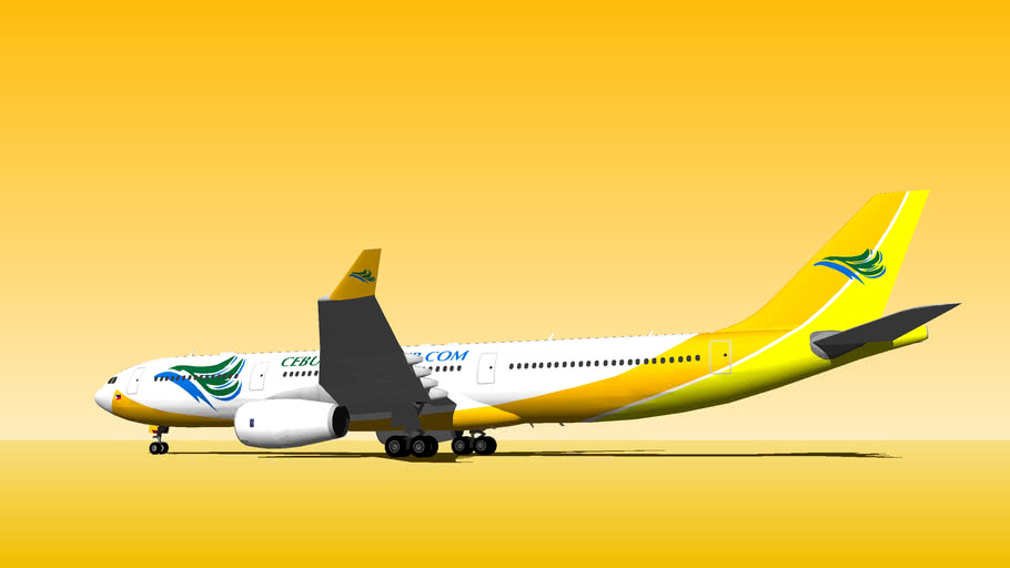 Cebu Pacific Air - Airbus A330-343