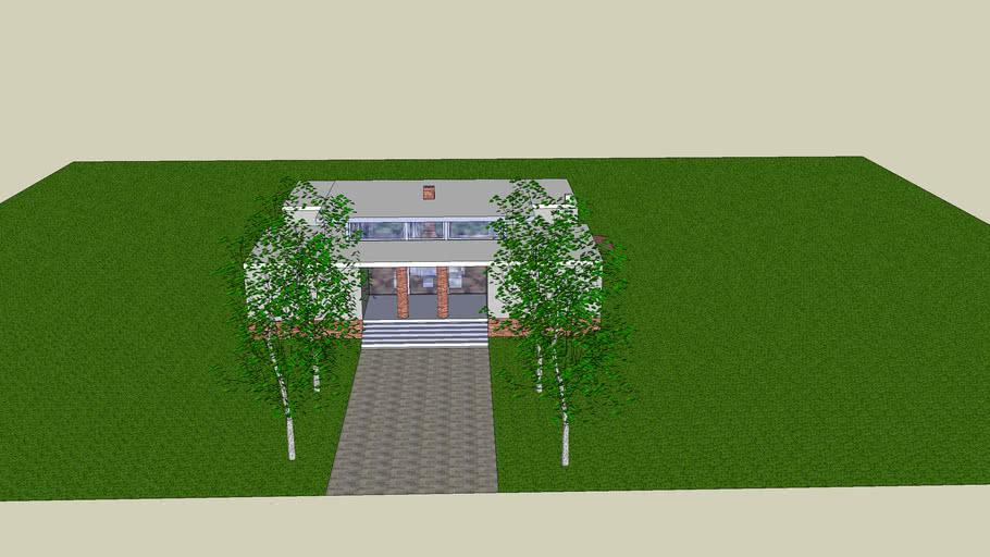 Version Academicista de la Casa Winton de Gehry