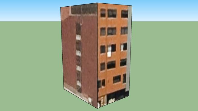 Adresa budovy: Mexiko, D.f., Mexiko