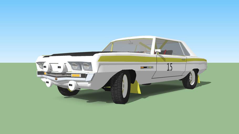 1971 Skylark Wayer Rally car