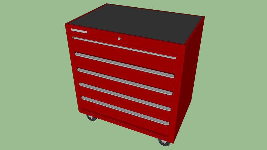 BC-093 - Tool Storage Cart / 5 Drawers
