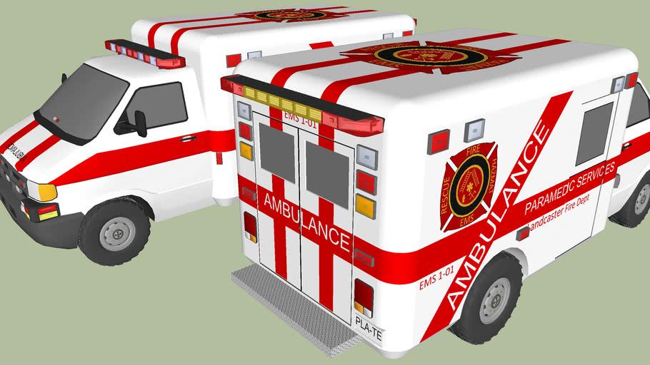 Landcaster Fire Dept: EMS 1-01 and 1-02