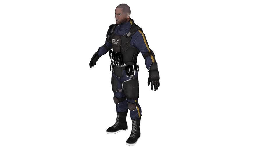 EDF Soldier B