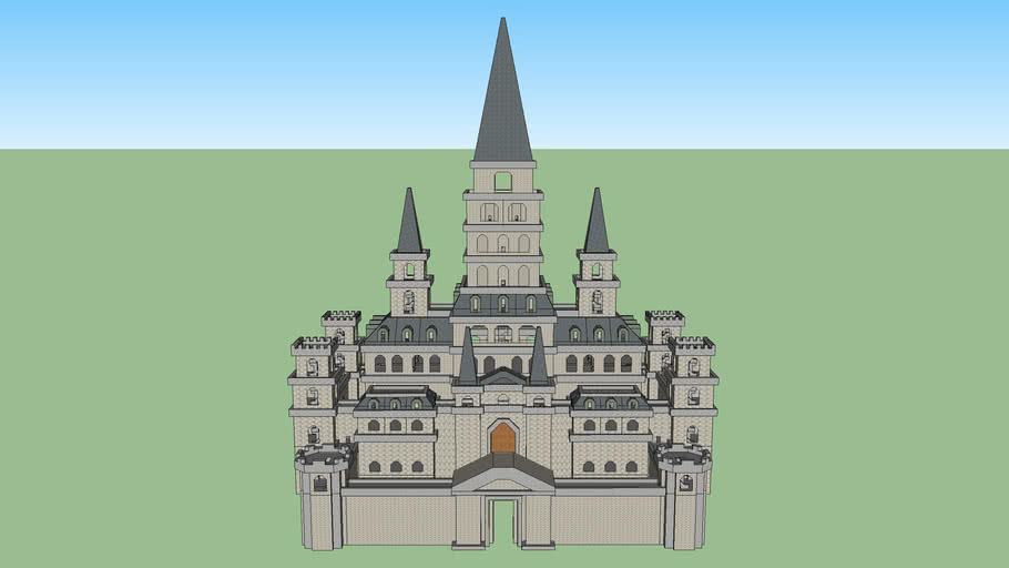 Hyrule Castle Ocarina Of Time 3d Warehouse