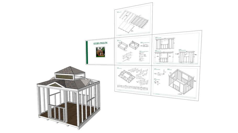 8x12 KITCHEN PAVILION (UNDER CONSTRUCTION)
