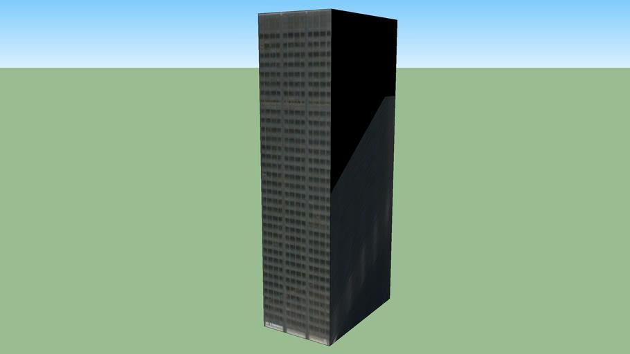 Bygning i Chicago, Illinois, USA