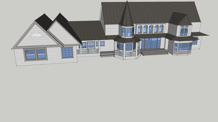 plain simple house