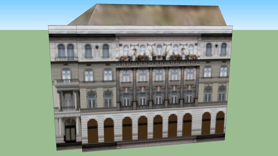 Andrassy Avenue 24. Budapest