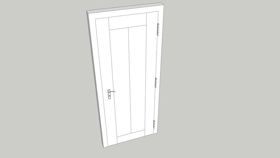 900x2100 Timber Door