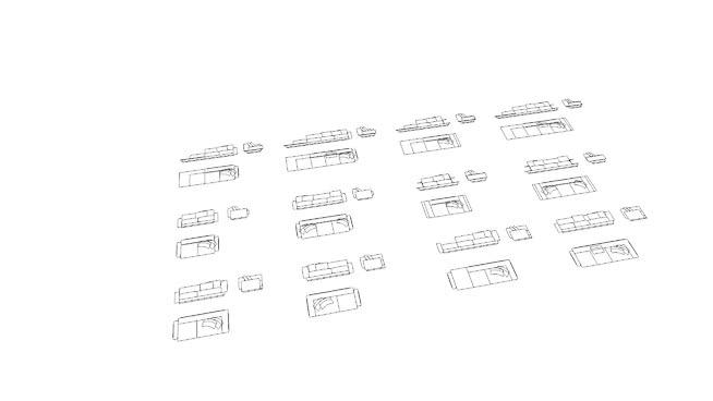 2D furniture/appliances