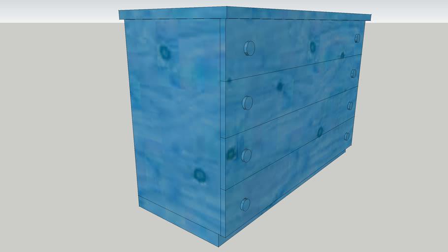 Cassettone blu