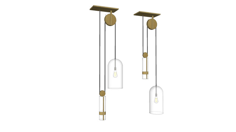 Suspended Pulley Light