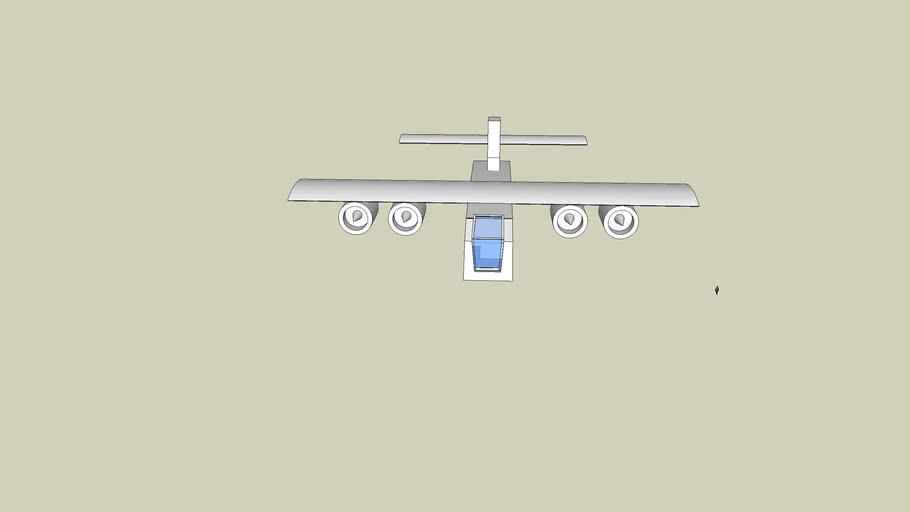 huge carrier plane