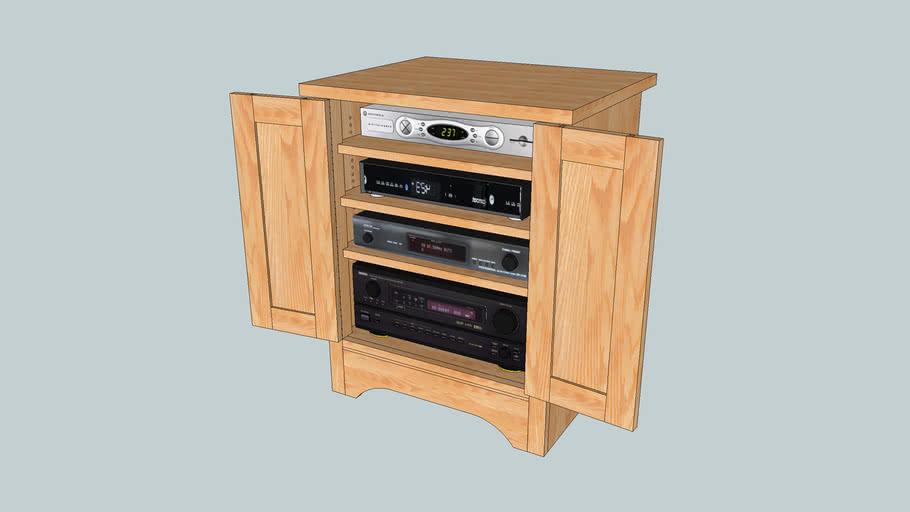 Audio Cabinet Custom