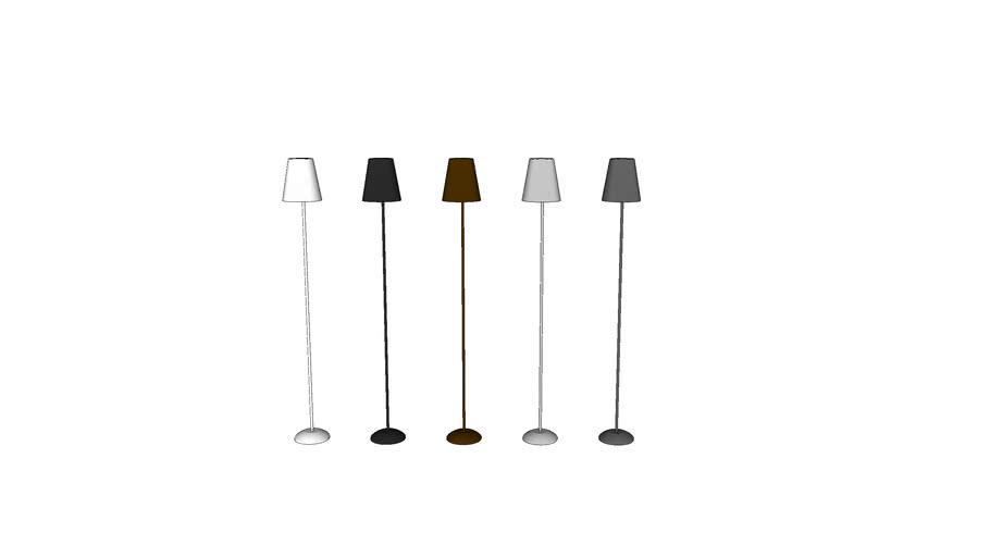 Luminária de piso alumínio