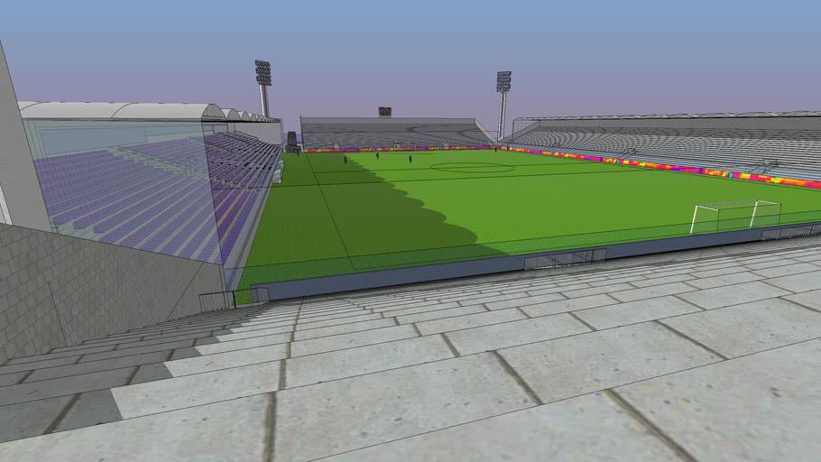 Estadio Franzini Defensor Sporting Remodelación total Modelo 1