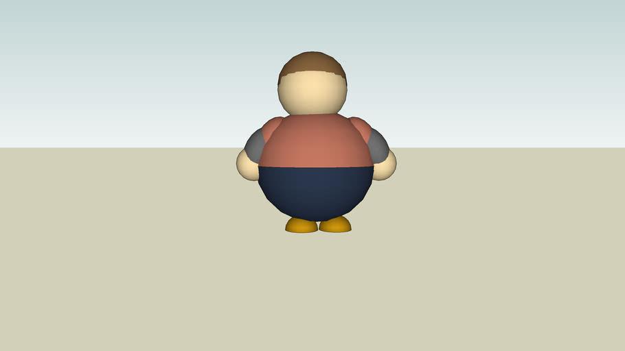 fat 3d bryce