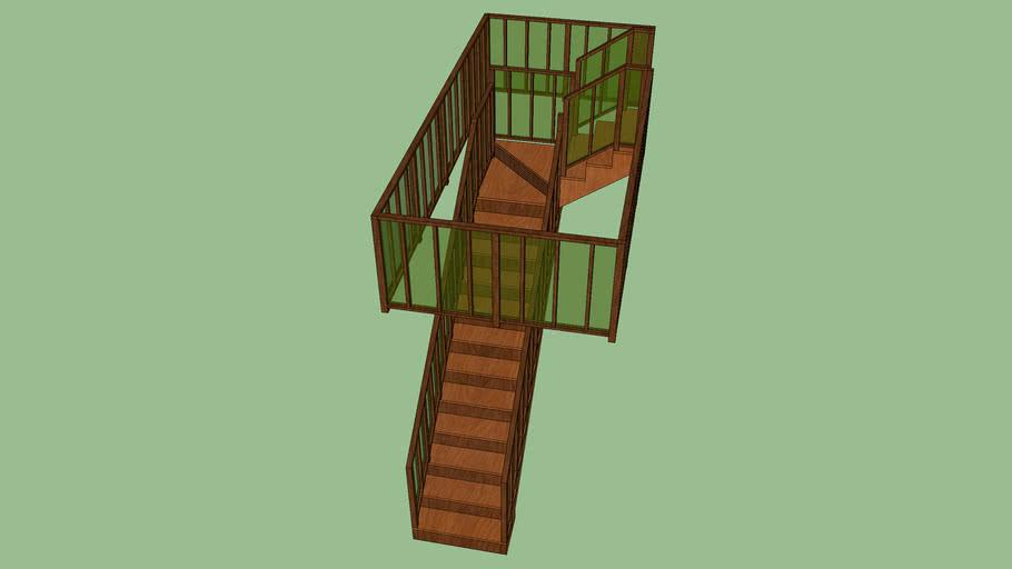 Top Winder Stairs: Top Floor