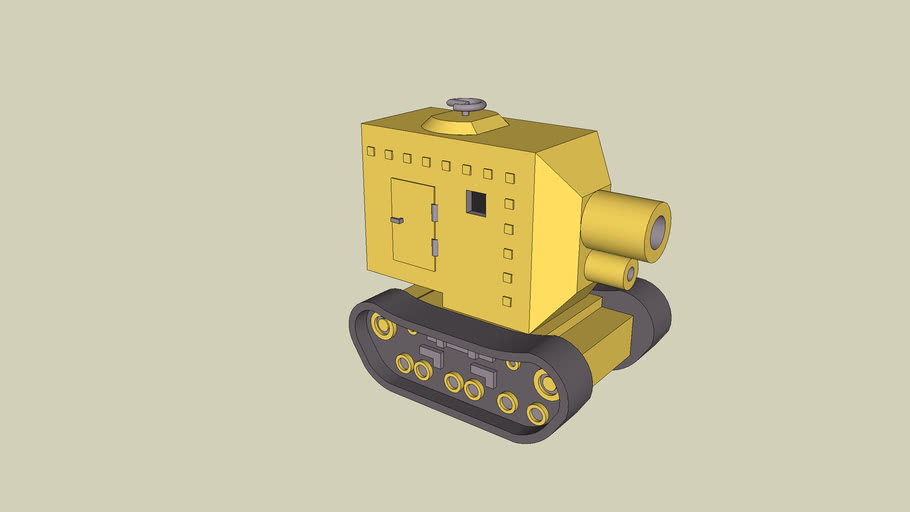 Yellow Comet Medium Tank. (Version 2.0)