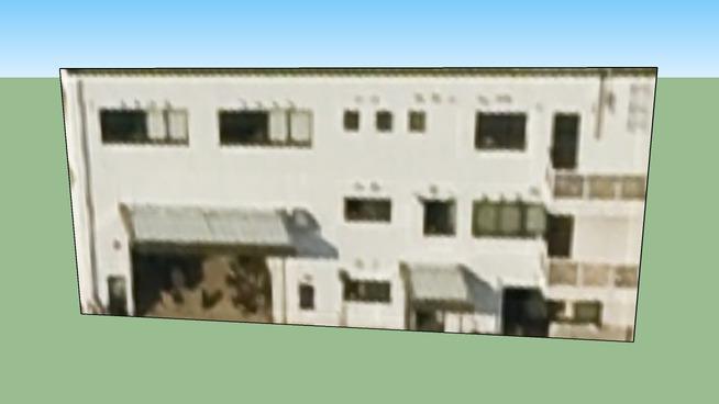 Building in Kōbe City, Hyōgo Prefecture, Japan