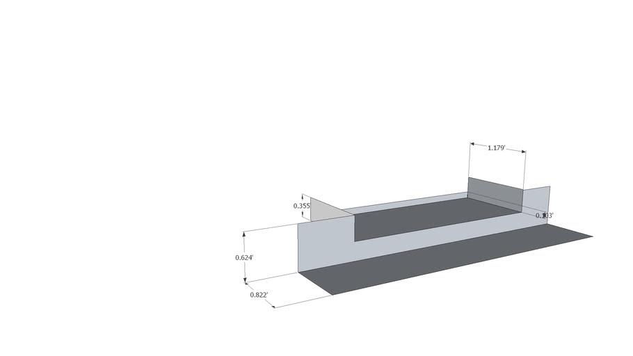 Sheet metal door pan flashing