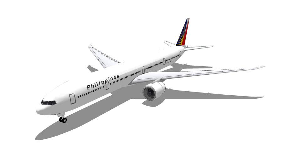 Philippine Airlines Boeing 777-3F6ER/36NER