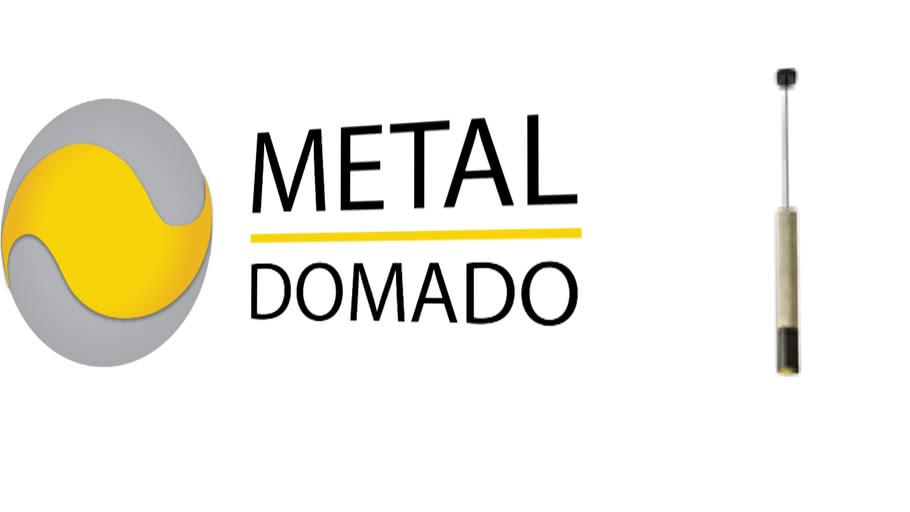 Metal Domado | Pendente Stone Long