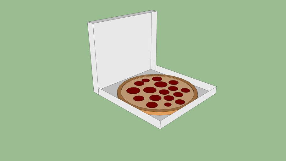 Giant Deep Dish Pizza