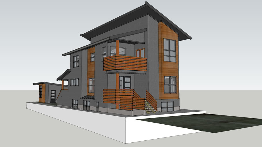 Custom Contemporary House - Cambie District, Vancouver, BC