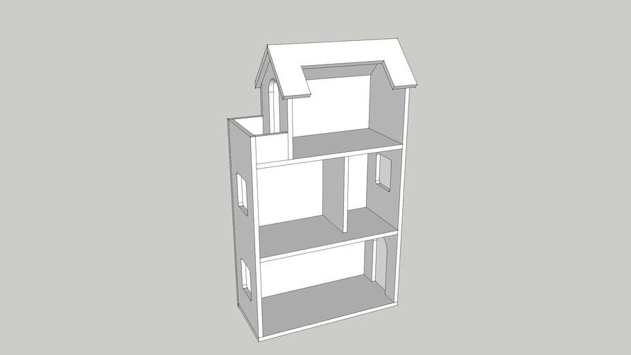 Кукольный домик тип1