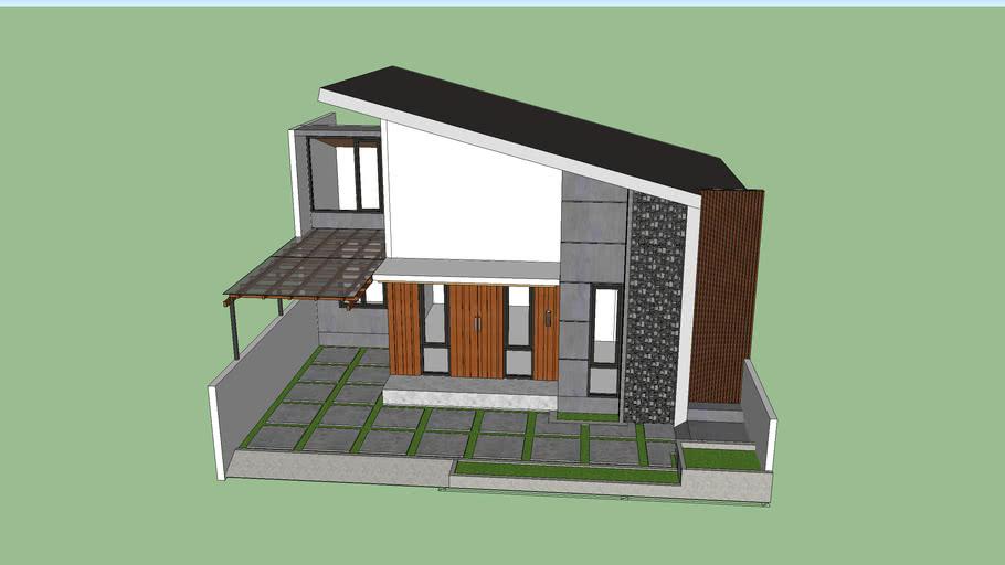 Tropical Modern House