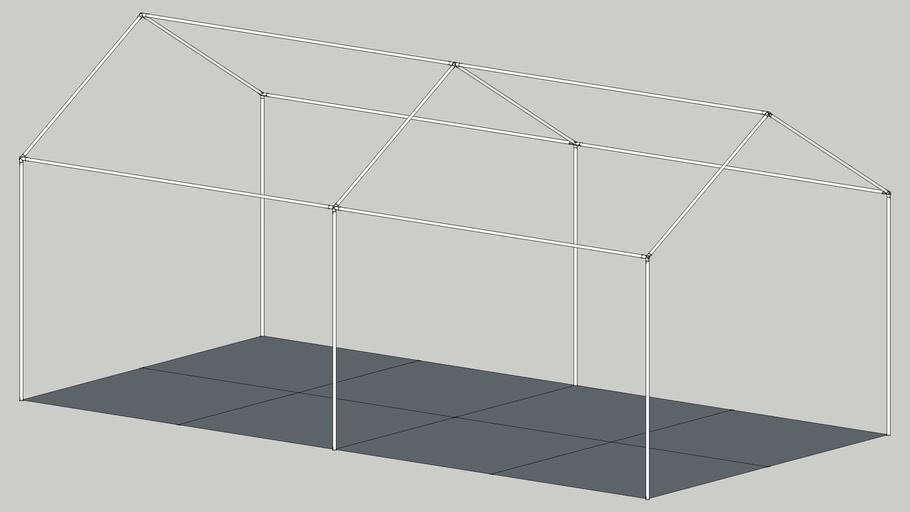 20' x 10' Canopy Frame