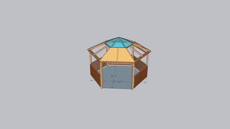 Hexagon Gazebo
