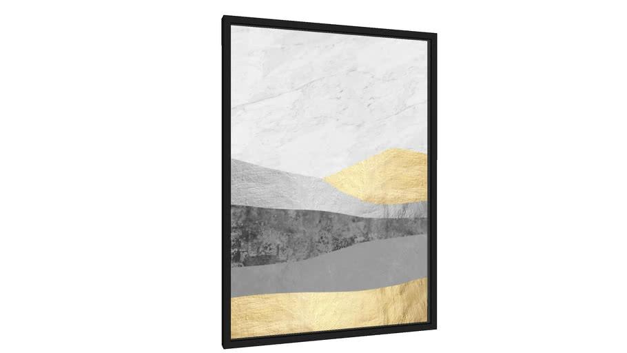 Quadro Paisagem dourada - Galeria9, por Arte Natural