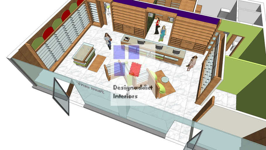 Retail Store Layout 3d Design 3d Warehouse