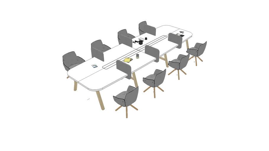 Hot Desk 8 PAX