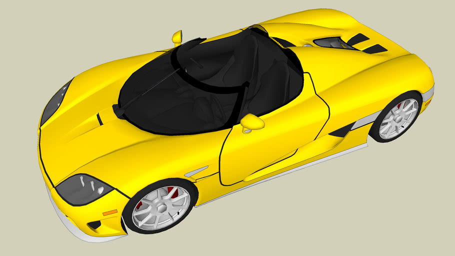 Koeningsegg CCX Roadster