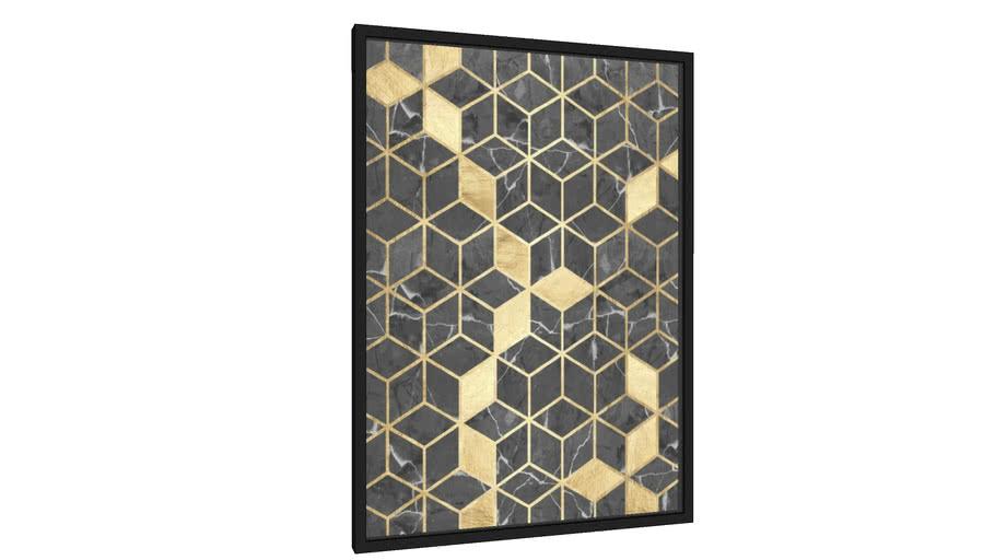 Quadro Mosaico de mármore - Galeria9, por Arte Natural